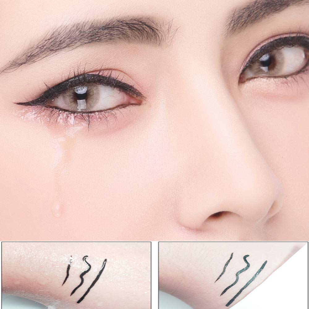 PROFESSIONAL Waterproof Long-Lasting Matte Liquid Makeup Eyeliner Pen (Black)