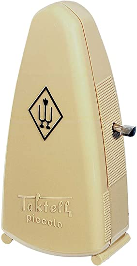 Amazon Com Wittner 832 Taktell Piccolo Metronome Ivory Musical Instruments