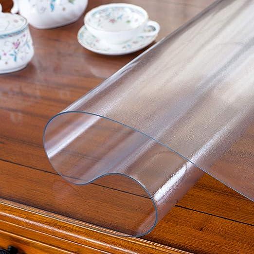 PVC Impermeable Protector Para Mesa,vinilo Plástico Mantel Cristal ...