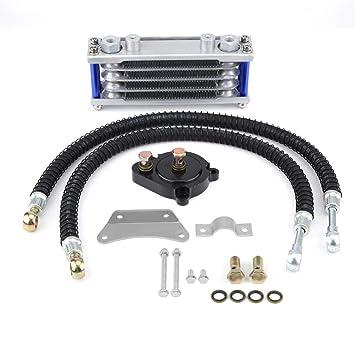 Refrigerador de aceite del motor Kit de radiador de enfriamiento para Yamaha YS150 Motocicleta