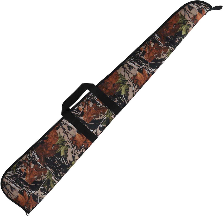 Tourbon Caza Escopeta Gun Rifle Bolsa de almacenamiento con correa de hombro ajustable - Verde con Brown Trim