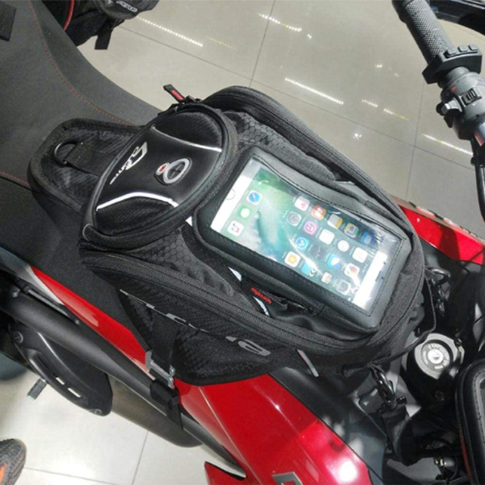 gaeruite Motorrad Tankrucksack universeller wasserdichter Reitorganisator mit abnehmbarem Touchscreen-Handy-Navigationspaket