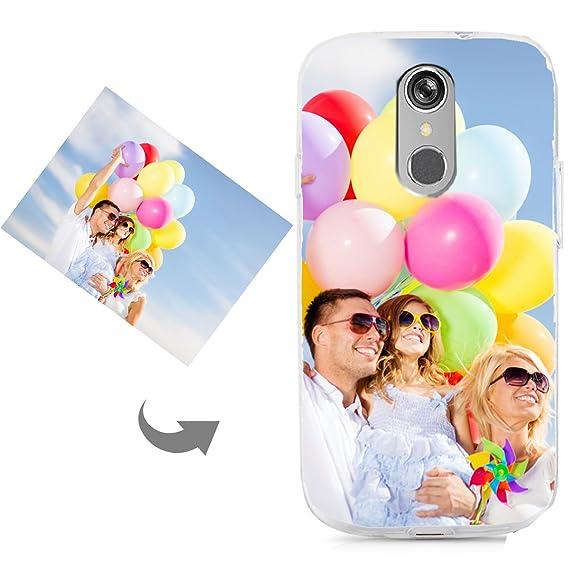pretty nice 43252 22ab8 Custom Phone Case,Personalized Customized Phone Case for LG  K4/K5/K8/K10/K20 Plus/G4/G5/G6/Q6/V1/V3/V5/V7/V30/Stylo 3, Unique DIY  Custom Picture Photo ...