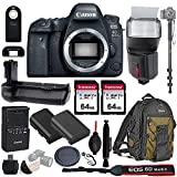 Canon EOS 6D Mark II Wi-Fi DSLR Camera Body - with Pro Battery...