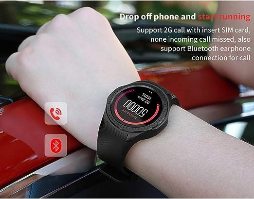 Kivors Reloj Inteligente L1 Bluetooth Smartwatch 1.3 Pulgadas ...