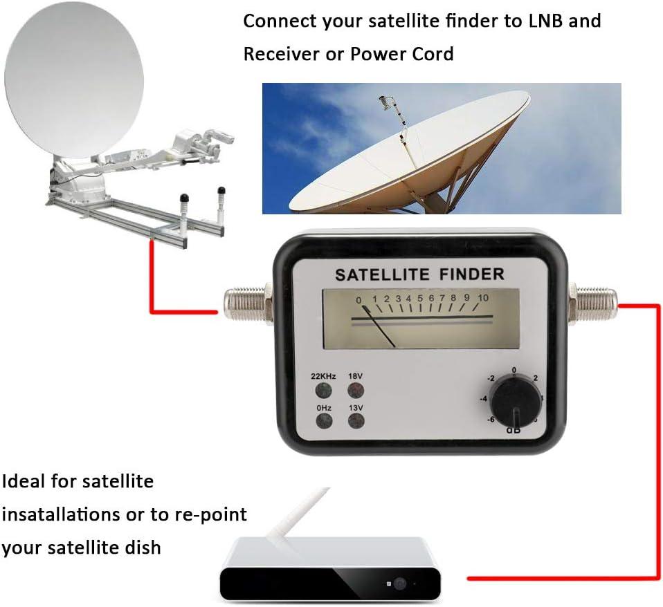 Detector de satélite Sat Force del contador de señal de alta ...