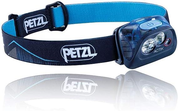 PETZL Actik Linterna Frontal, Unisex Adulto, Azul, Talla Única ...