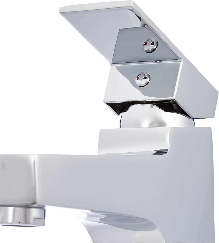 cromo pulido Basics Mezclador de grifo de cuarto de ba/ño moderno