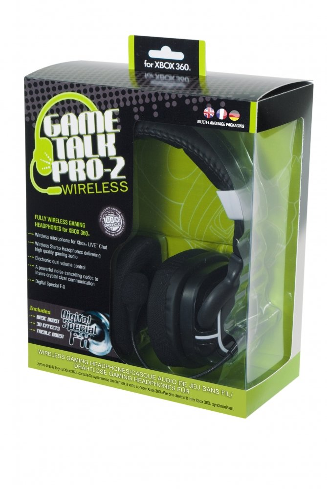 Datel Game Talk Pro 2 Wireless Headset