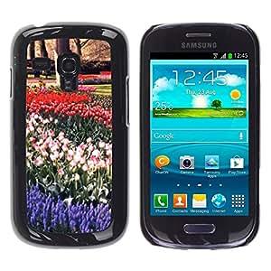 "For Samsung Galaxy S3 MINI ( NOT for regular S3 , S-type Planta Naturaleza Forrest Flor 16"" - Arte & diseño plástico duro Fundas Cover Cubre Hard Case Cover"