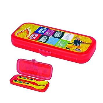Sam El Bombero - Fireman Sam - Niños cubertería reutilizable con la caja