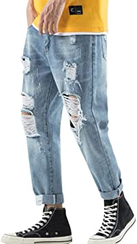 routinfly Pantalones de Deporte para Hombre, Pantalones Vaqueros ...
