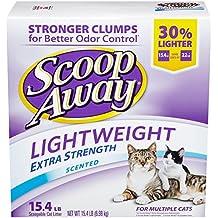 Scoop Away Lightweight Extra Strength, Scented Cat Litter, 15.4 lb