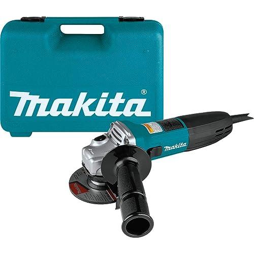 Makita GA4030K 4 Angle Grinder, with Tool Case