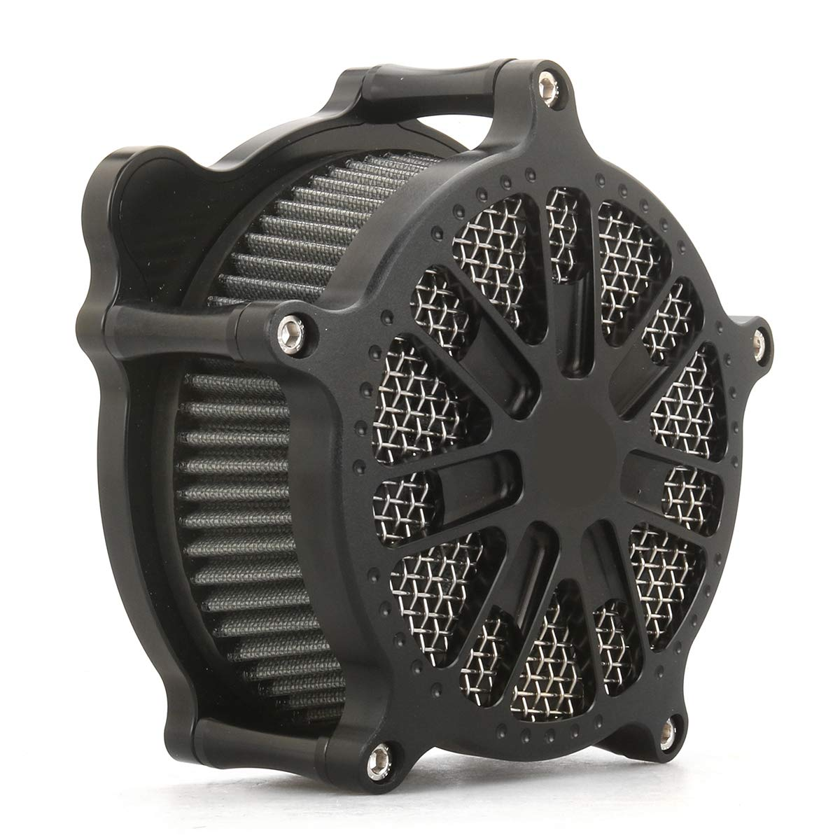 BLACK VENTURI AIR CLEANER INTAKE COVER for harley sportster XL 1991-2019 air filters sportster 883 1200