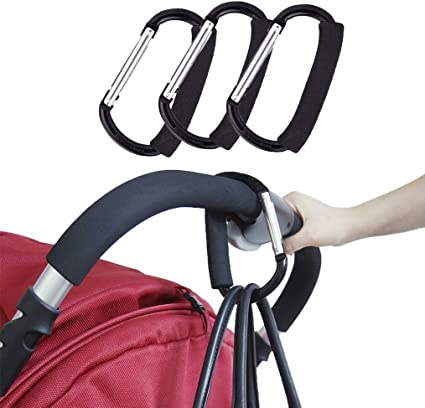 Accessories Hanging Carabiners Shopping Bag Hook Organizer Clip Stroller Holder