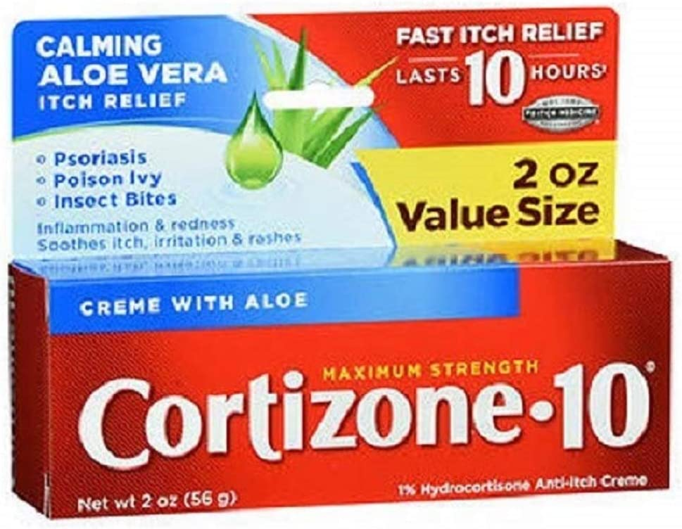 Cortizone-10 Maximum Strength, 2 Ounce Box: Health & Personal Care