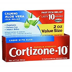 Cortizone-10 Maximum Strength, 2 Ounce Box