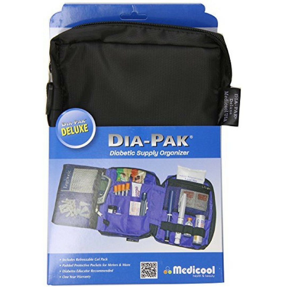 Medicool DIA-PAK Deluxe Diabetic Supply Organizer 1 Each by Sittiyakul