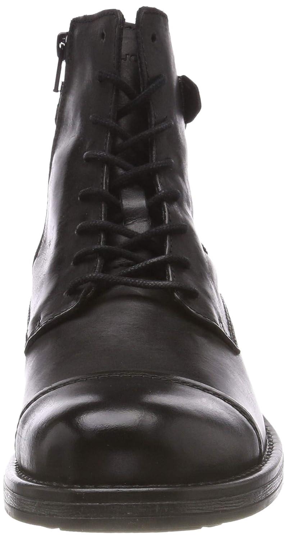 JACK & JONES Herren Stiefel, Jfwsiti Leather Anthracite Klassische Stiefel, Herren Grau (Anthracite Anthracite) 0f1c62