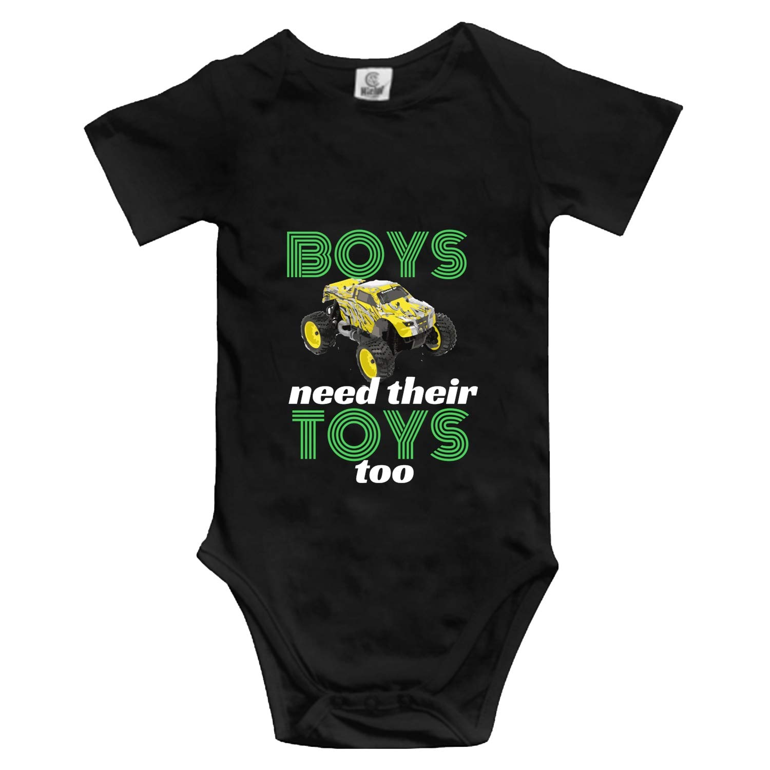 YPZOOS Baby Funny Opinion I Am Not A Morning Person Bodysuits Short Sleeve Rompers Outfits Summer Clothes