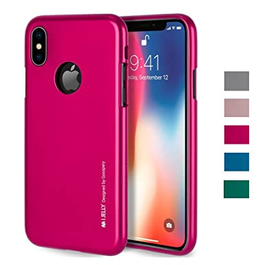 reputable site d2eee 0fe74 GOOSPERY iPhone X Case, [Flexible] [Slim] iPhone X Protective Case ...