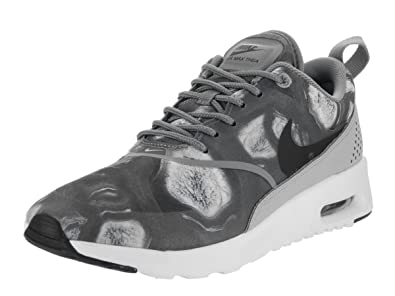 on sale d27ab f9313 Nike Air Max Thea Print Women s Shoes Black Wolf Grey 599408-013 (6