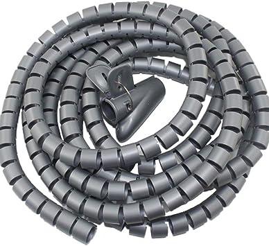 Cable Organizer Wire Clip Easy Installation Spiral Tube Admission Zip Tie Holder