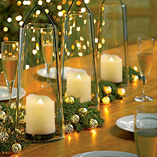 Flameless Candles With Remote And Timer Led Tealights