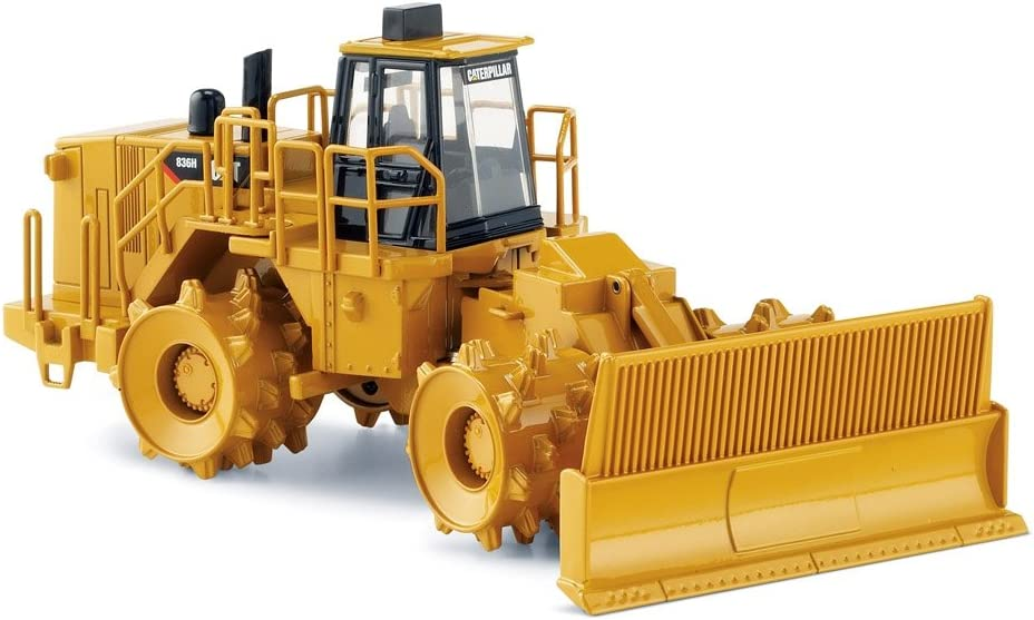 Norscot Cat 836H Landfill Compactor 1:50 scale