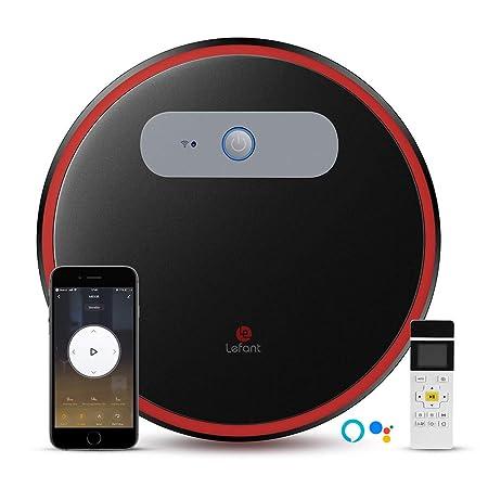 LEFANT Aspirador Robot con WiFi, Aspira y Barre 2 en 1, App Control, Compatible con Alexa y Google, Auto-Carga, Súper Siliencioso, Aspiradora Potente ...