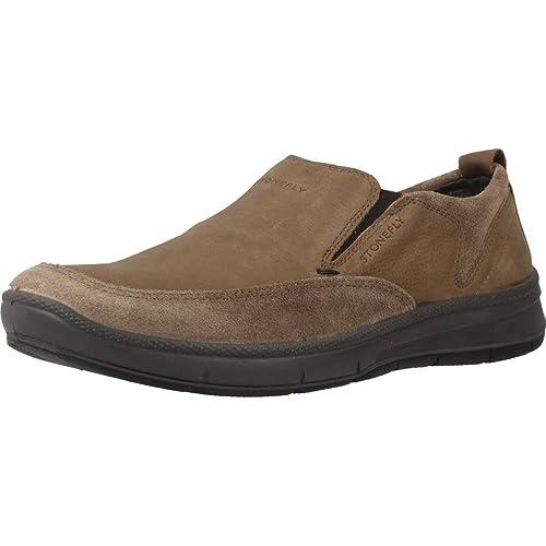 Mocasines para Hombre, Color Hueso, Marca STONEFLY, Modelo Mocasines para Hombre STONEFLY WHIPPI 1 Hueso: Amazon.es: Zapatos y complementos
