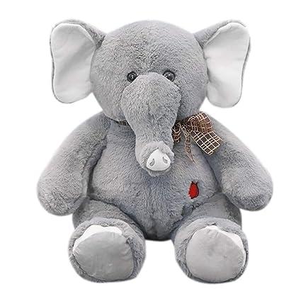 Amazon Com Gbell Cute Long Nose Elephant Plush Toys Kids Soft