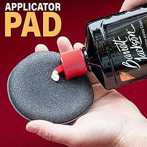 Barrett-Jackson Car Wax Kit, Car Detailing Kit with Liquid Carnauba Wax + Wax Applicator Pad + MicroFiber Towel - for Premium Car Polish and Car Care, 9961, 16 oz.