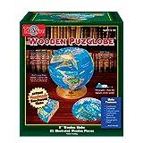 T.S. Shure PuzGlobe 3-D Wooden Globe