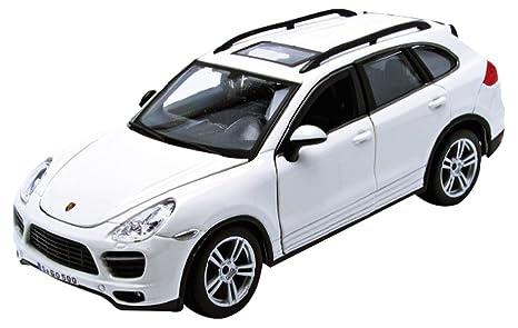 Bburago 21056W - Porsche Cayenne Turbo - 2011 - 1/24 Escala - Blanco