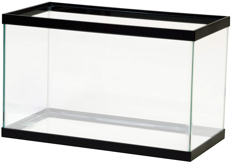 All Glass Aquariums Aquarium Black 10 Gallon