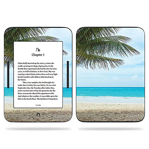 MightySkins Skin for Barnes & Noble Nook GlowLight 3 (2017) - Beach Bum | Protective, Durable, and Unique Vinyl Decal wrap Cover | Easy to Apply, Remove, and Change Styles | Made in The USA