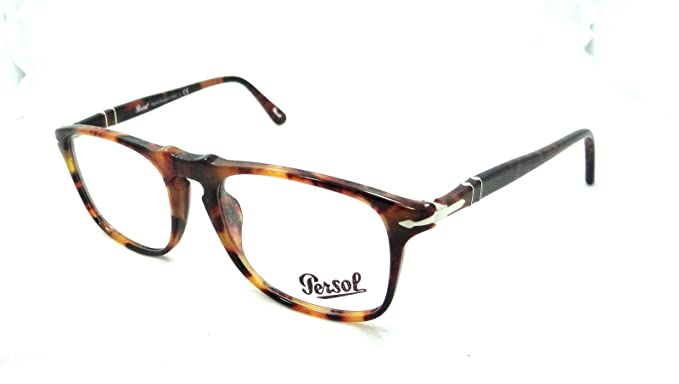 dde7830f455 Image Unavailable. Image not available for. Colour  Persol Rx Eyeglasses  Frames 3059 V 108 50x18 Caffe ...