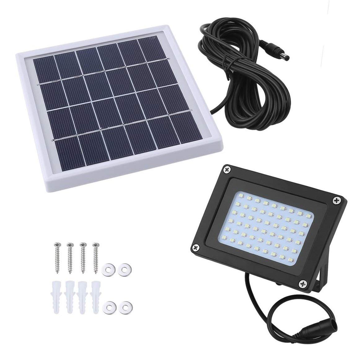 54 LED Solar Powered Light Outdoor Security Impermeabile Prato Light Sensor Flood Spot Lampada per cortile giardino Patio JBP-X