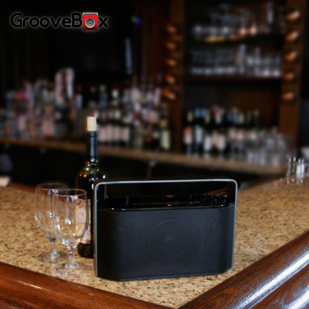 Wireless Bluetooth Speaker - GrooveBox Black