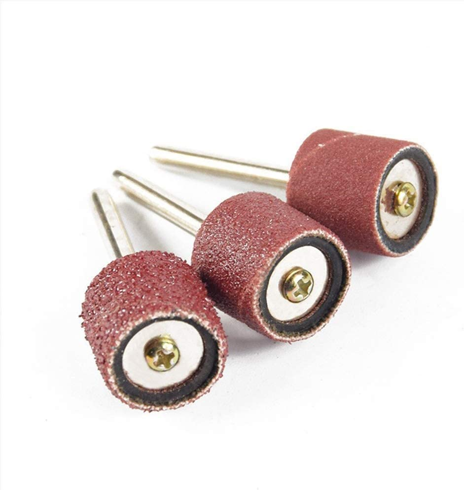 CHUNSHENN Durable Sandpaper Electric Grinder Mill Wind Mill Pen Polishing Wheel Gas Metal Grinding Head Electric Grinding Accessory Kit Abrasive Accessories