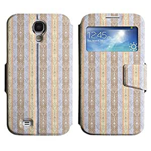 Be-Star Colorful Printed Design Slim PU Leather View Window Stand Flip Cover Case For Samsung Galaxy S4 IV / i9500 / i9505 / i9505G / SGH-i337 ( Amazing Pattern ) Kimberly Kurzendoerfer