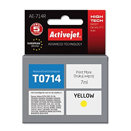 ActiveJet EXPACJAEP0216 cartucho de tinta Amarillo 7 ml - Cartucho ...