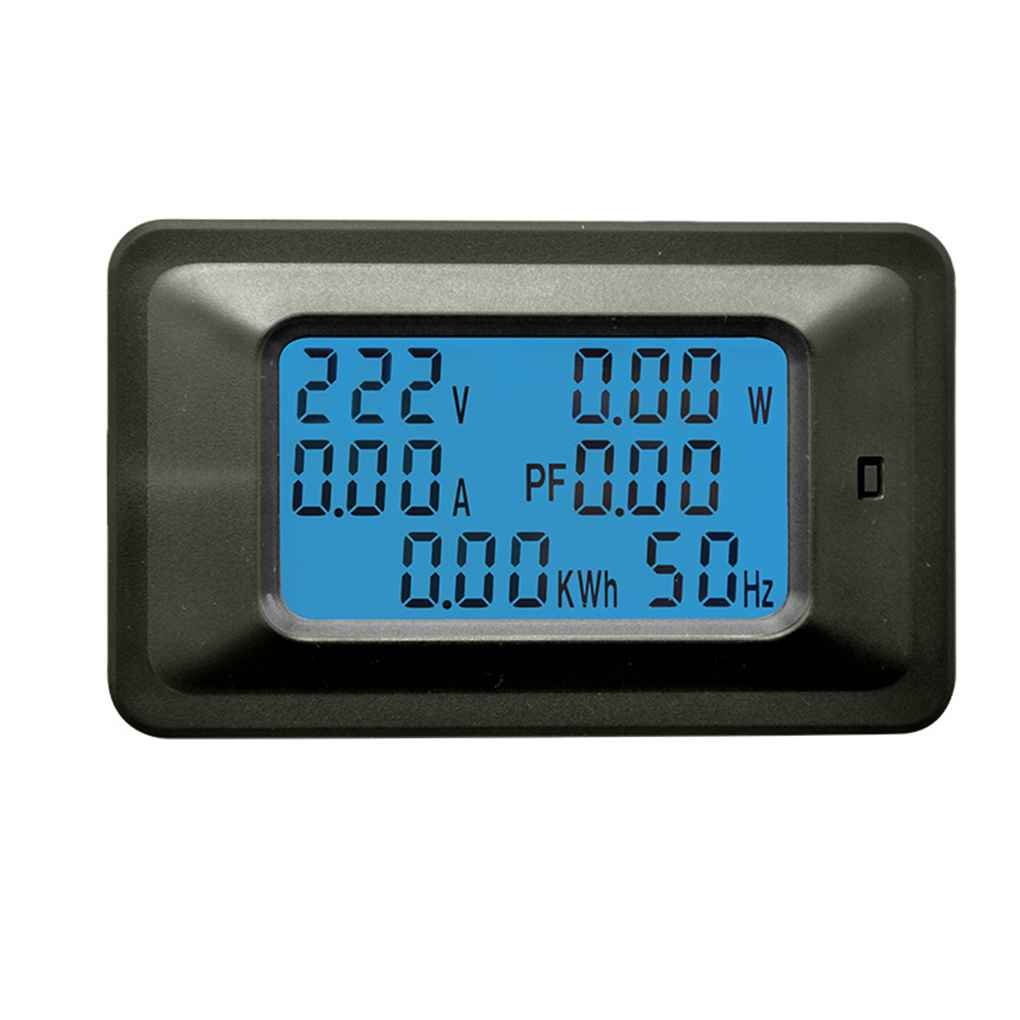 Mengonee 110-250V P06S-20A/P06S-100A Multi-Funktionen digitale LCD-Anzeige ARM-Prozessor Voltage Power Meter-Monitor xgooyf33787@