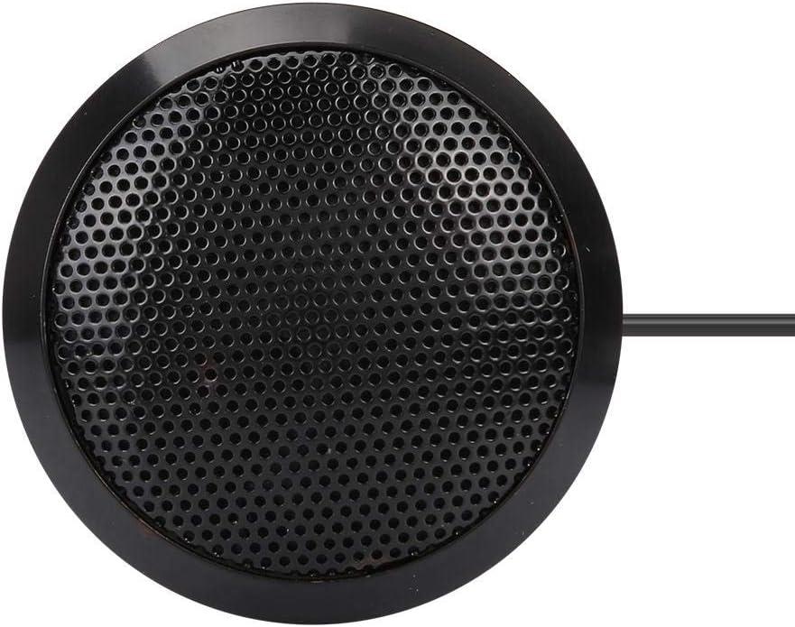 Kondensatormikrofon 3,5 mm Tragbares Desktop-Computer-Mikrofon Aufzeichnung von Videokonferenzen Fangen Sie das Leiseste Signal von 360 /° in alle Richtungen f/ür Office-Konferenzen ab Skype Online Meet