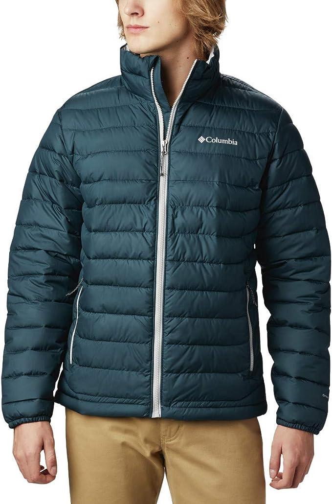 Columbia 哥伦比亚 Powder Lite 防水热反射 户外男式保暖棉服夹克 XL码3折$35.7 海淘转运到手约¥313