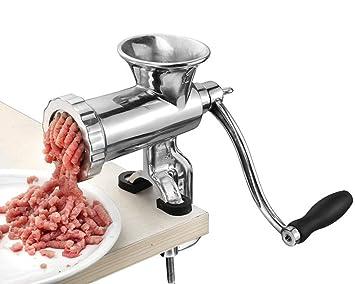 Hanchen Picadora de Carne Manual Molino de Carne Acero ...