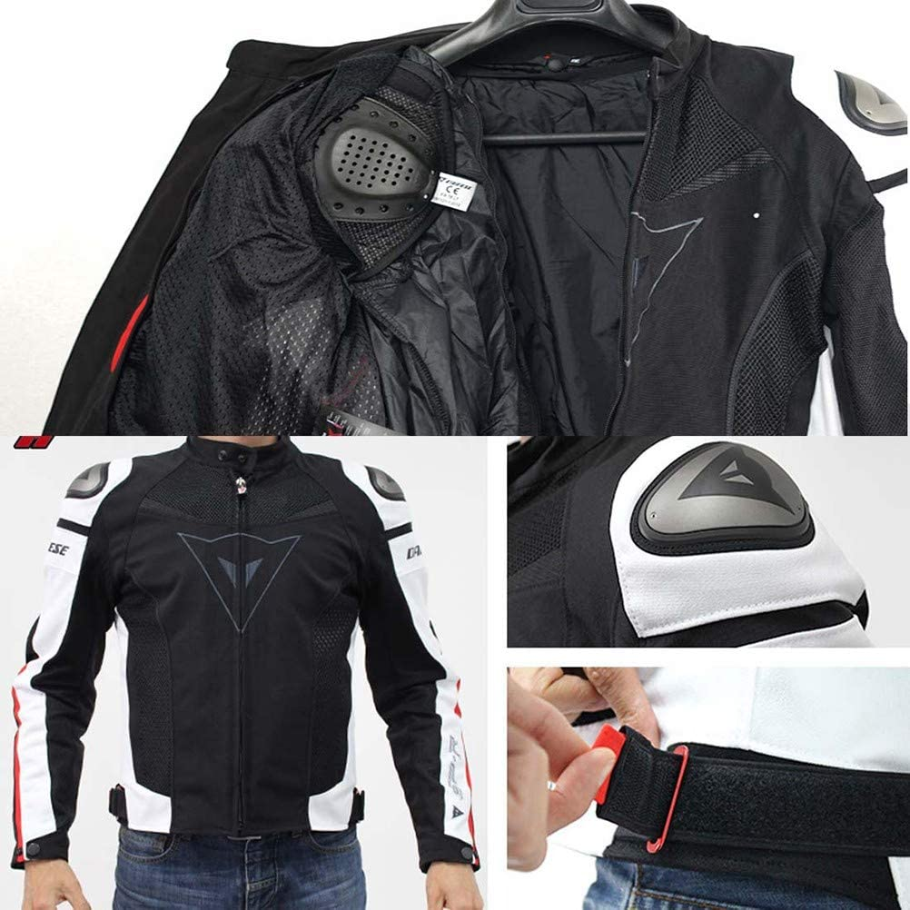 MTTKTTBD Chaqueta Moto Hombre Textil Impermeable con Armadura ...
