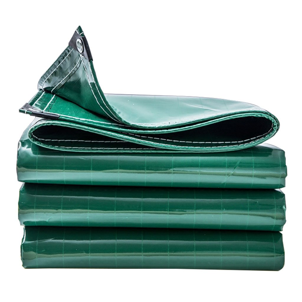 防水ターポリン、サンシェード絶縁ターフ、庭、屋外、キャンプテント、大規模機器、ピックアップトラック、マルチサイズに適して (色 : Green, サイズ さいず : 3m*4m) B07FSHRSG7 3m*4m|Green Green 3m*4m